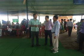 GTV Camp of IE District held on 3/7/2018 at Nongmailembi Lai Lampak